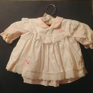 Vtg C.I.CASTRO and Co.Baby Girl 2 pcs Dress 18mo?